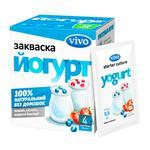Закваска бактериальная Vivo Йогурт сухая в пакетиках 4*0,5г