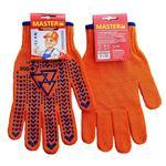 MasterОК Knitted Orange Mittens 10s L