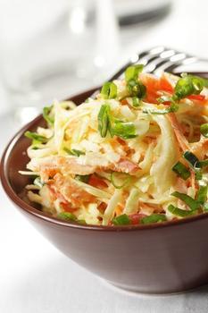 Салат з капусти в південному стилі