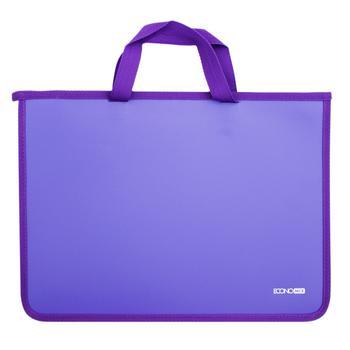 Портфель Economix пластиковий на блискавці - купити, ціни на Метро - фото 1