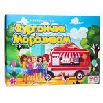 Игра настольная Strateg Фургончик с мороженым укр