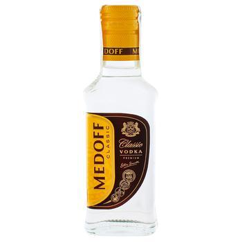 Водка Medoff Классическая Премиум 40% 0,1л - купить, цены на Varus - фото 1