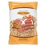 Печиво Київхліб Крендельки з корицею 260г - купити, ціни на Фуршет - фото 1