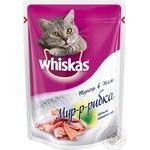 Корм для котів Пауч Whiskas мур рибка з тунцем 28*85г