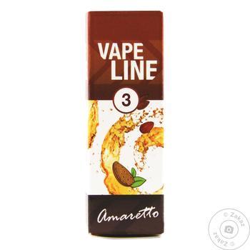 Жидкость для электро испарителя Vape Line Amaretto 10мл