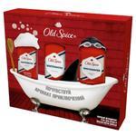 Подарочный набор Old Spice White Water твердый дезодорант + лосьон после бритья 100мл + гель для душа 250мл
