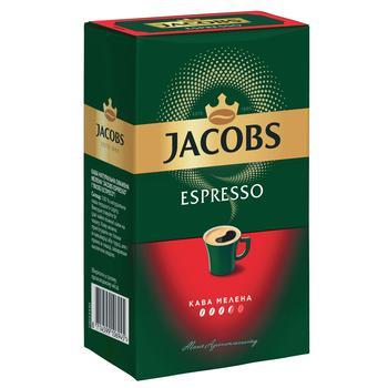 Кофе молотый Jacobs Monarch Эспрессо 230г - купить, цены на СитиМаркет - фото 1
