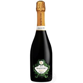 Sparkling wine Badagoni white brut 12.5% 750ml glass bottle - buy, prices for Novus - image 1
