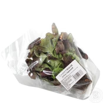 Fresh oak red salad