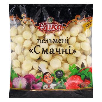 Пельмени Элика Вкусные 1кг