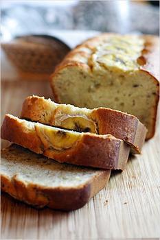 Банановый пирог со сливочным маслом