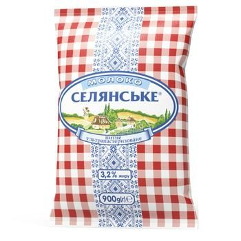 Selianske Ultrapasteurized Milk 3,2% 900g