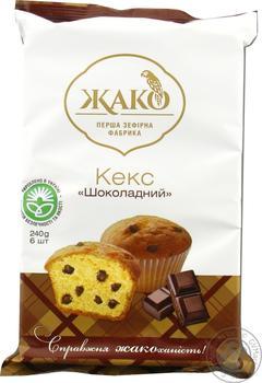 Jaco Chocolate Cupcake 240g - buy, prices for Novus - image 1