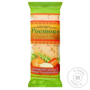 Хлебцы Росток из пророщенного зерна пшеницы 120г - купить, цены на Novus - фото 1