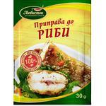 Приправа Любисток до риби 30г - купити, ціни на ЕКО Маркет - фото 1