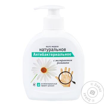 Мыло жидкое Невская Косметика антибактериальное с экстрактом ромашки 300мл