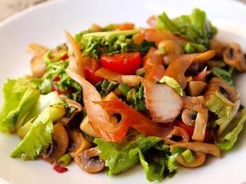 Бельгійський строкатий салат