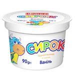 Творожок Фанни ваниль термизированный 15% 90г