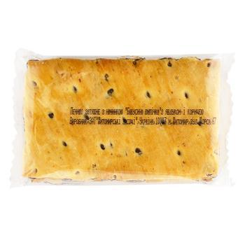 Печенье Житомирські Ласощі Бабушкина выпечка с яблоком и корицей - купить, цены на Фуршет - фото 1