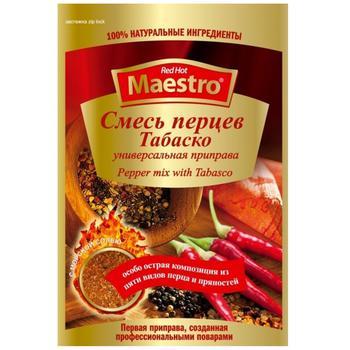 Приправа Red Hot Maestro Смесь перцев Табаско 25г