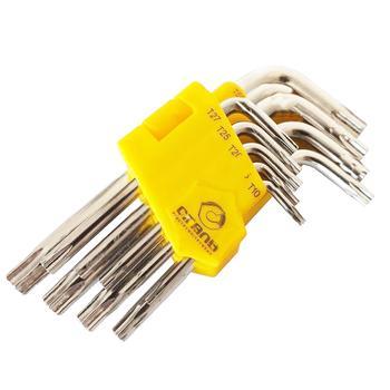 Набор г-образных ключей Сталь удлиненные с отверстием 9шт