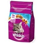 Корм сухой Whiskas для взрослых кошек с тунцом 300г