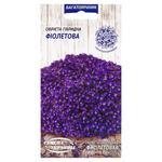 Семена Семена Украины Обриета Гибридная фиолетовая 0,05г