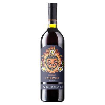 Вино Inkerman Cabernet красное сухое 14% 0,75л
