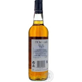 McClelland's islay single malt scotch whiskey 40% 0,7l - buy, prices for CityMarket - photo 2