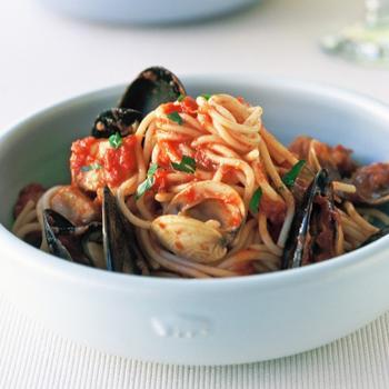 Спагетти маринара