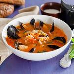 Рисовий суп із мідіями