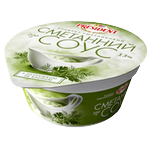 Sauce President sour cream with parsley 200g Ukraine