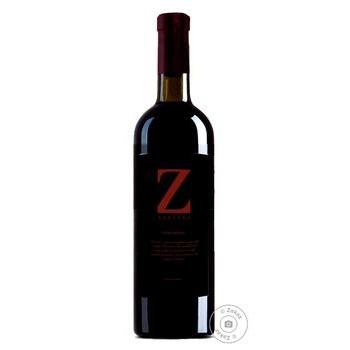 Вино Zanzara Rosso Veneto красное сухое 11% 0.75л