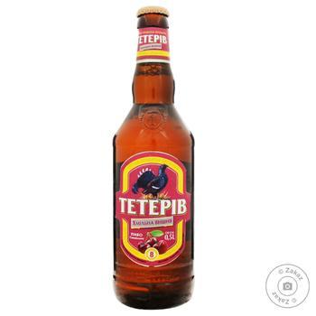 Пиво ППБ Тетерев Хмельная вишня полутемное 8% 0,5л - купить, цены на Фуршет - фото 2
