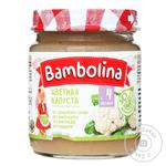 Puree Bambolina with cauliflower for children from 4 months 100g