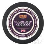 Сыр Wyke Farms Чеддер с карамелизированным луком 48% 100г
