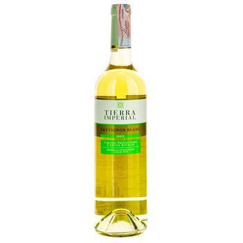 Вино Sauv. Blanc T.Imperial белое сухое 0.75л - купить, цены на Фуршет - фото 1