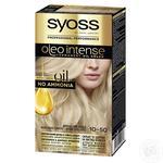 Фарба для волосся SYOSS Oleo Intense 10-50 димчастий блонд без аміаку 115мл