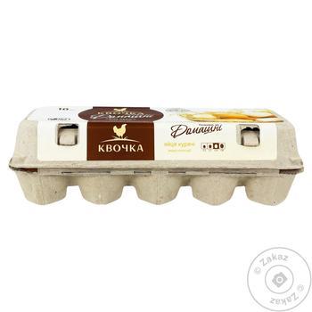 Яйца Квочка Домашние куриные С0 10шт - купить, цены на Восторг - фото 2