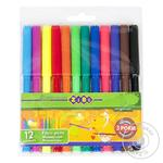ZiBi Felt-Tip Pens 12 Colors