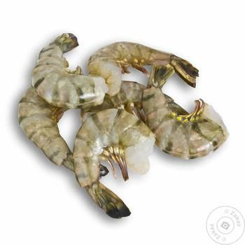 Seafood shrimp Polar sea food in shell - buy, prices for MegaMarket - image 1