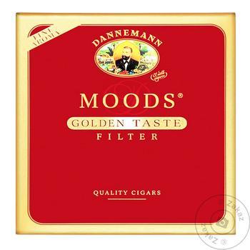 Сигара Moods filter golden taste - купить, цены на Novus - фото 1