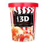 Морозиво Laska зі смаком карамельного попкорну та наповнювачем солона карамель 500г