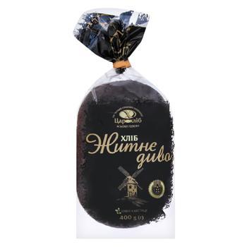 Хлеб Царь Хлеб Житнє Диво ржаной в упаковке 400г
