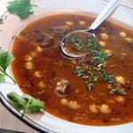 Харира (марокканский суп с бараниной)