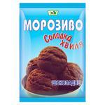 Морозиво Эко Солодка хвиля шоколадне 60г