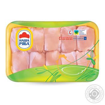 Филе бедра Наша Ряба цыпленка-бройлера охлажденное (упаковка СЕС ~ 800-1100г)