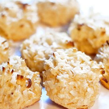 Печенье из кукурузных хлопьев и кокоса