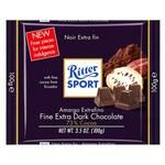 Ritter sport extra dark chocolate 73% 100g