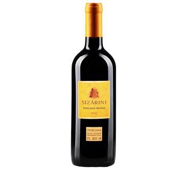 Вино Sizarini Sangiovese Rubicone IGT сухое красное 11.5% 0,75л